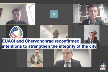 EUACI and Chervonohrad reconfirmed their intentions to strengthen the integrity of the city
