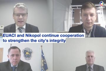 EUACI and Nikopol continue cooperation to strengthen the city's integrity