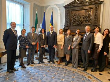 EUACI supported study tour for HACC judges to Ireland
