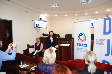 "EUACI supported the creation of interactive database ""Disciplinary Cases against Judges in Criminal Proceedings"""