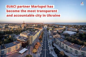 EUACI partner Mariupol has become the most transparent and accountable city in Ukraine