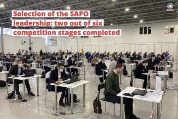 Selection of the SAPO leadership: two out of six competition stages completed