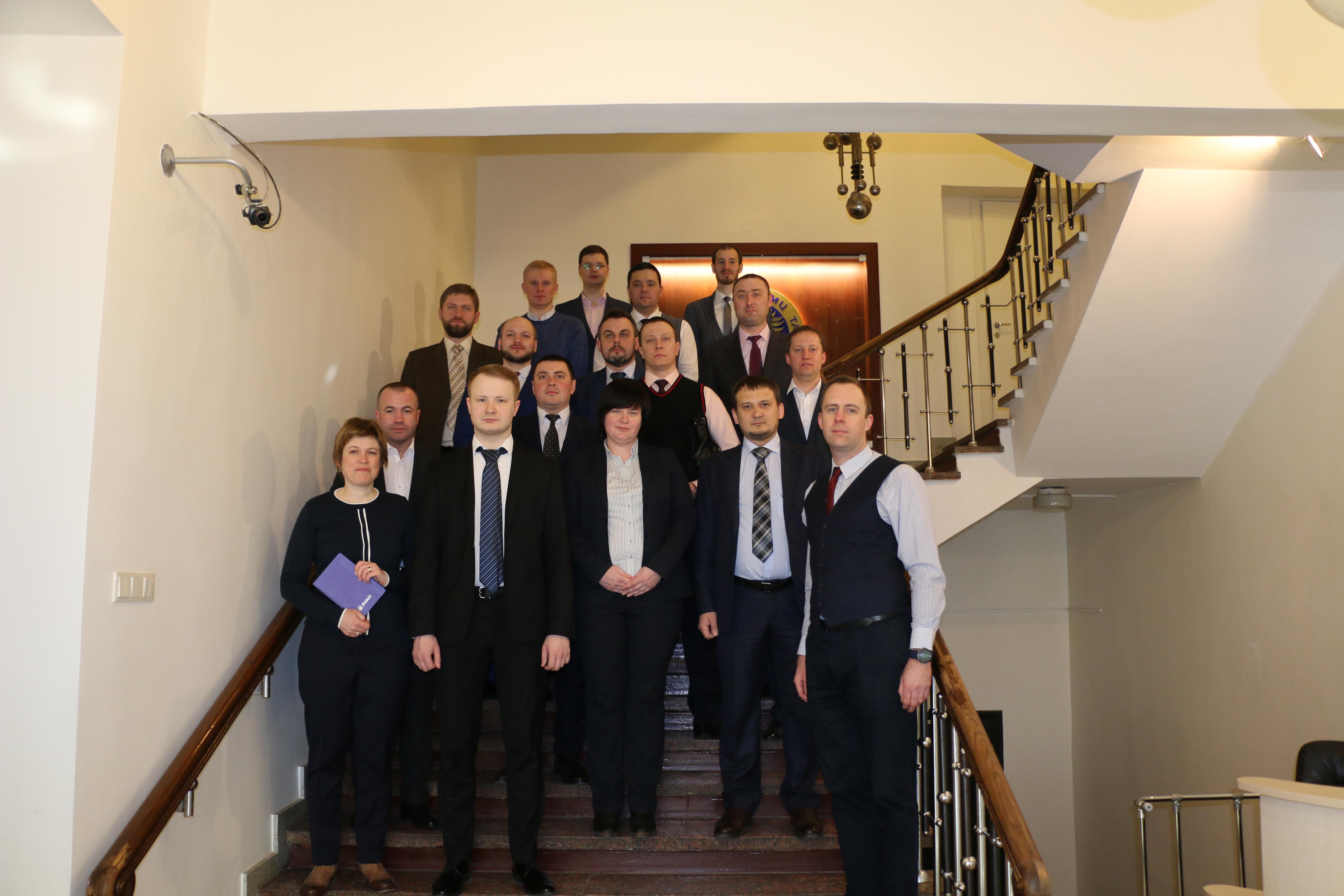 Навчальний візит НАБУ до Литви