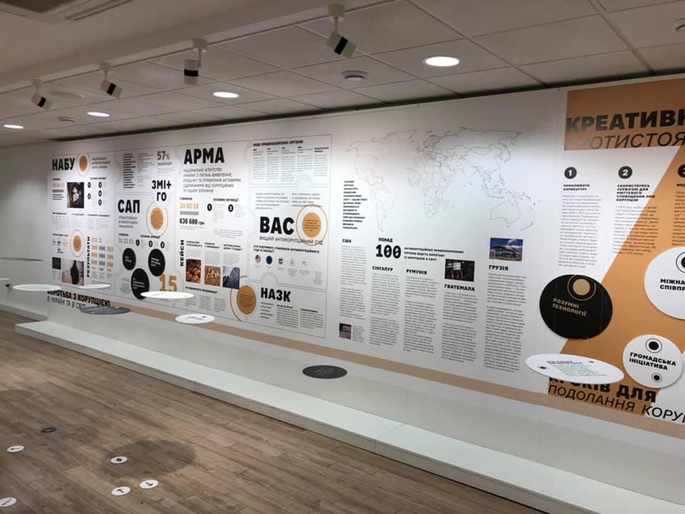 Продовження Парку корупції: у Києві відкрилася виставка «Україна без корупції»