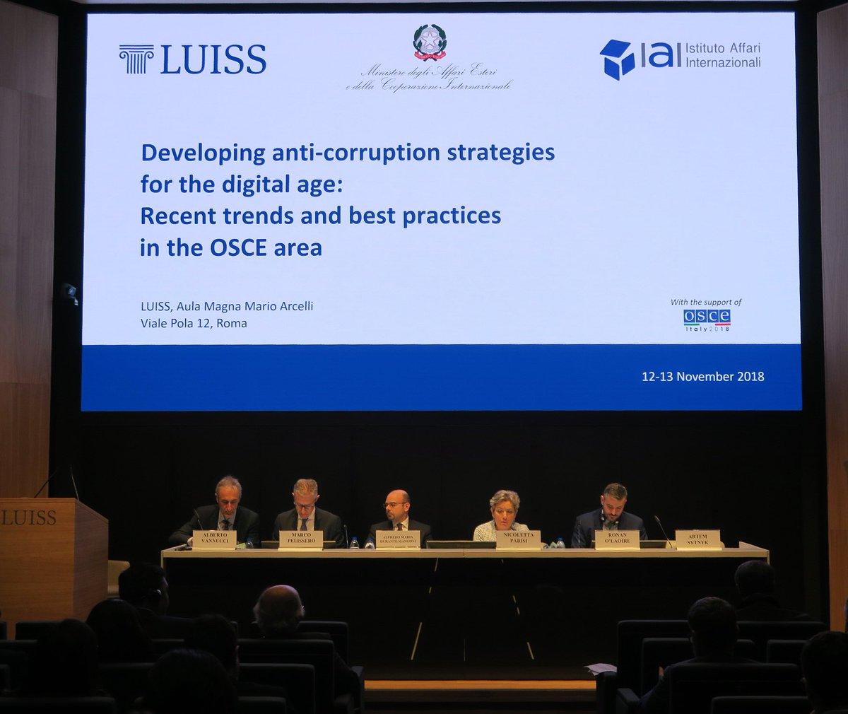 За підтримки EUACI керівництво НАБУ взяло участь у міжнародній конференції ОБСЄ