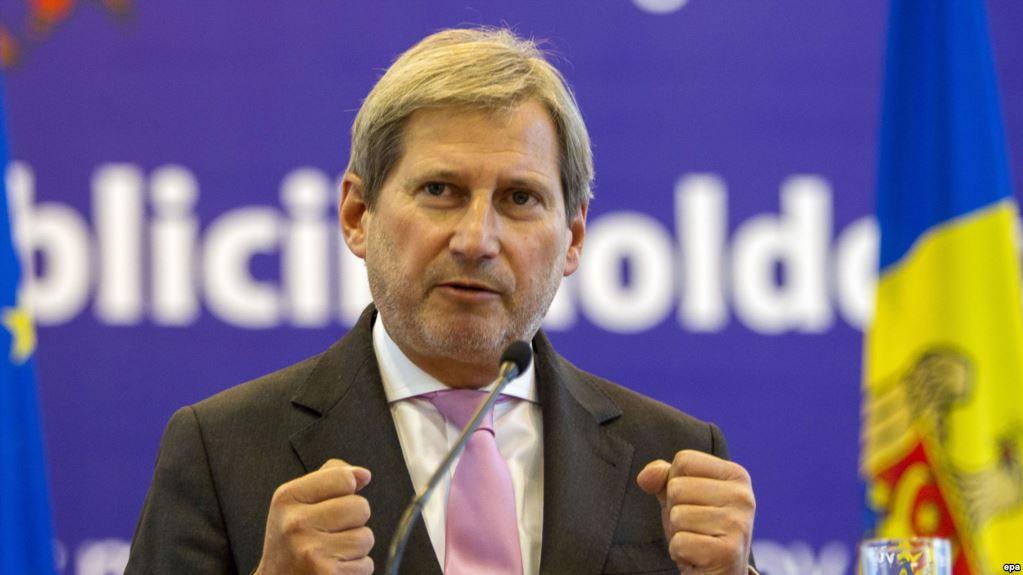 Єврокомісар Ган закликав Верховну Раду скасувати е-декларування для громадських активістів