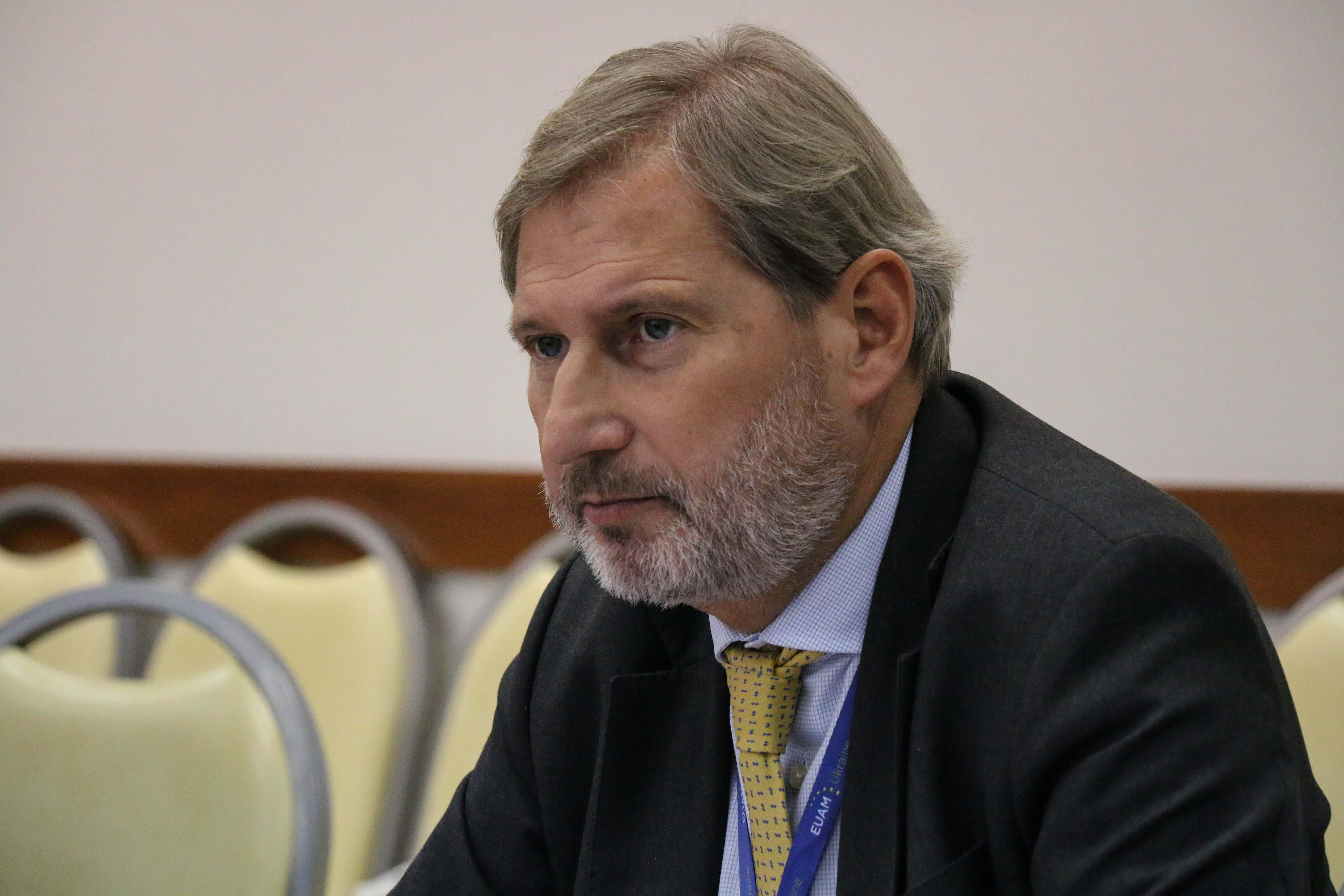 Україну відвідає Єврокомісар Йоганнес Ган