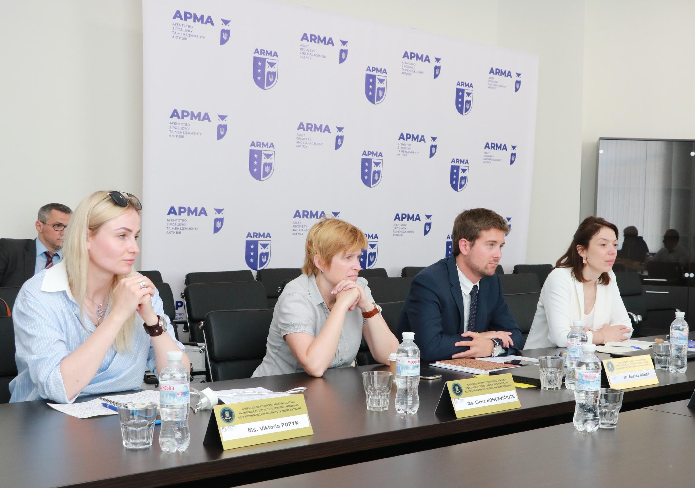 За підтримки EUACI представники AGRASC відвідали АРМА